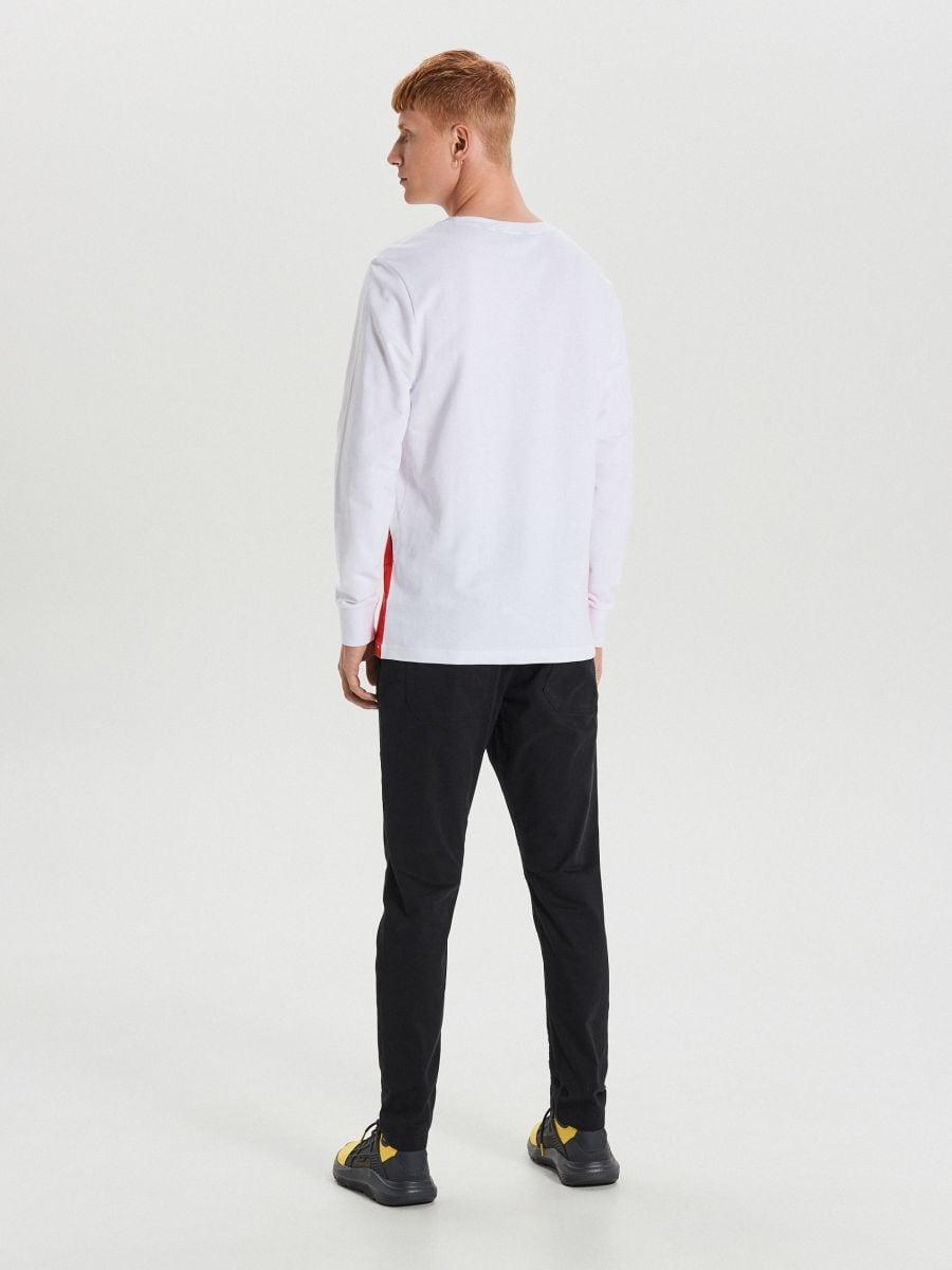 Tricou de Crăciun cu mânecă lungă  - ALB - XO753-00X - Cropp - 3