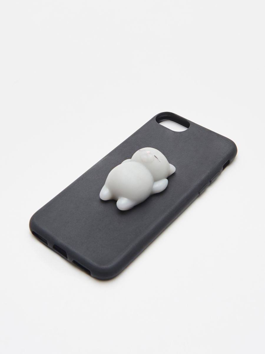 Carcasă iPhone 7/8 - NEGRU - XR410-99X - Cropp - 2