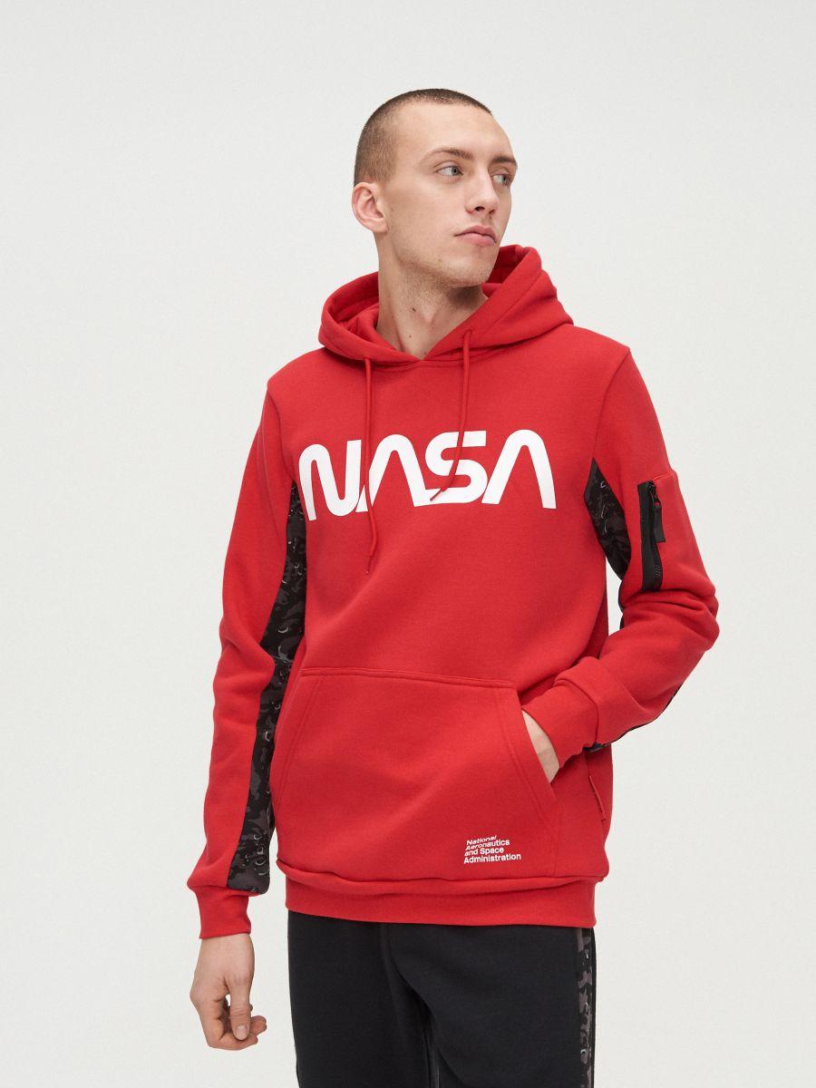 Hanorac NASA  - ROȘU - XT501-33X - Cropp - 3