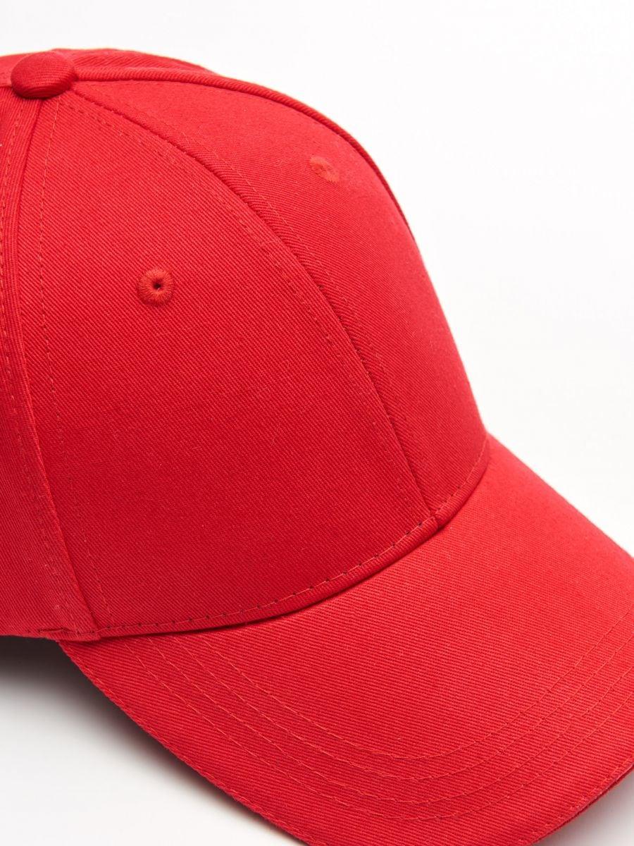 Șapcă cu cozoroc - ROȘU - XW652-33X - Cropp - 2