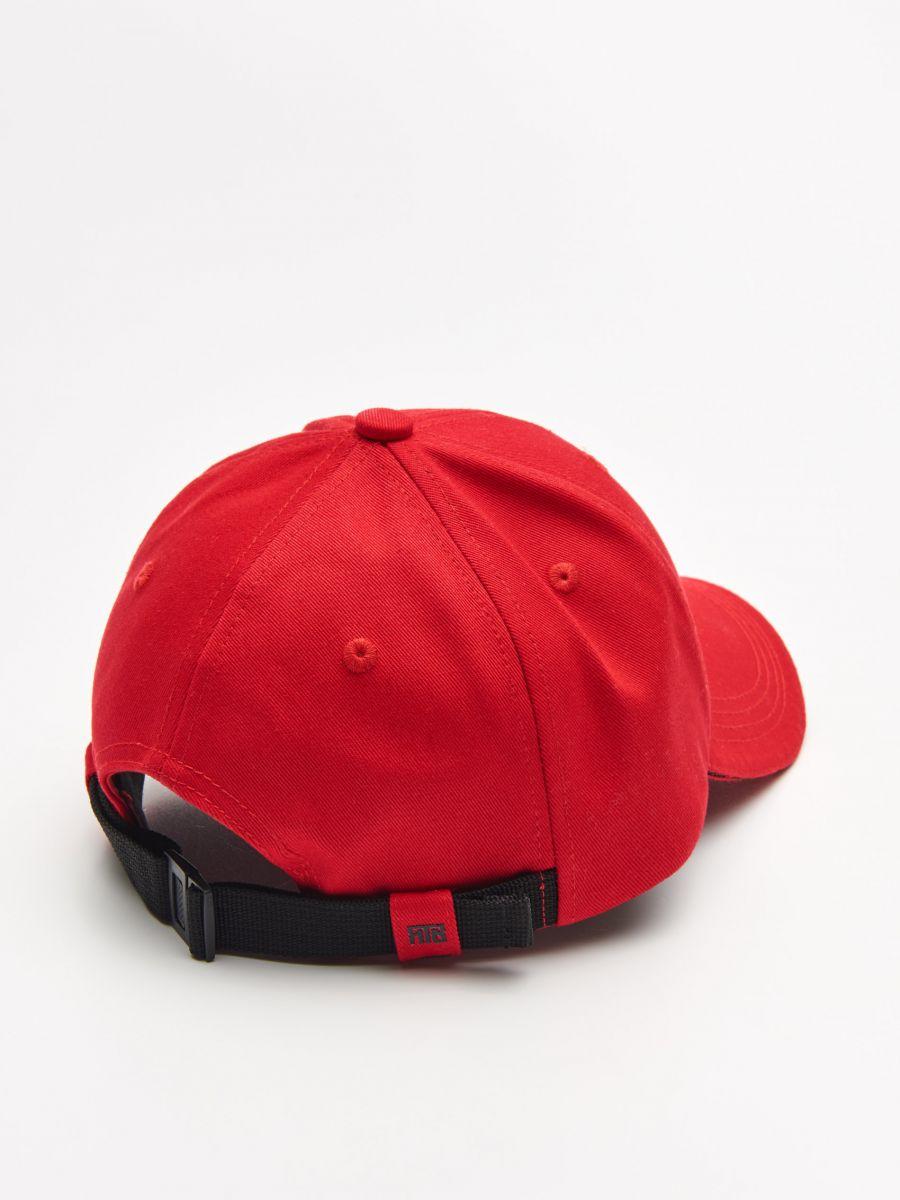 Șapcă cu cozoroc - ROȘU - XW652-33X - Cropp - 3