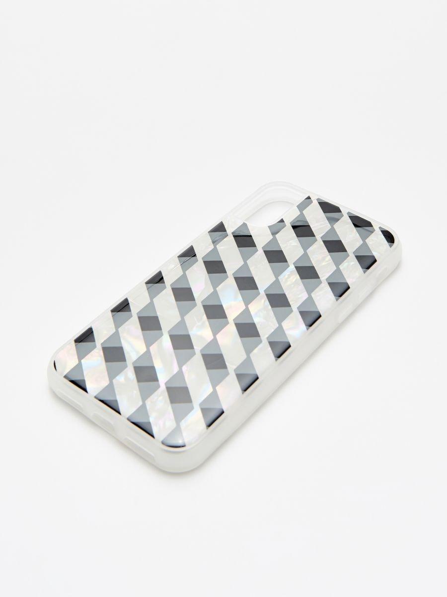 Carcasă iPhone X - ALB - XZ648-00X - Cropp - 2