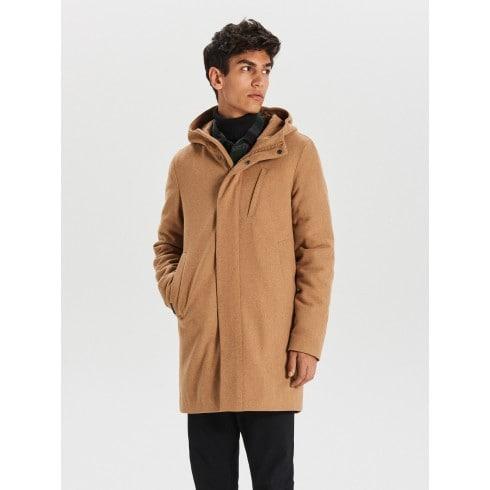 Palton călduros cu adaos de lână
