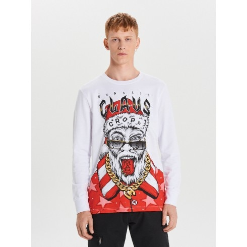 Tricou de Crăciun cu mânecă lungă