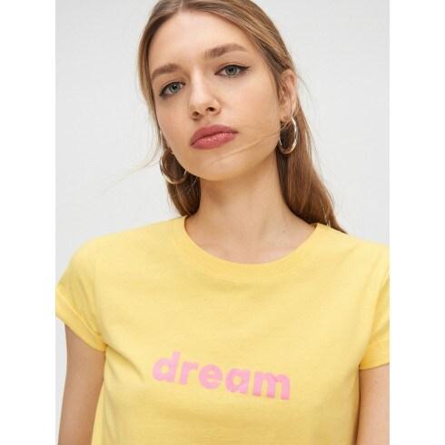 Tricou cu mânecă lungă și text