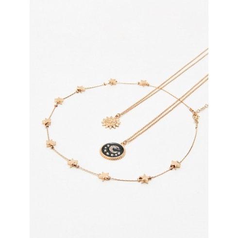 Set de coliere cu amulete în formă de stea