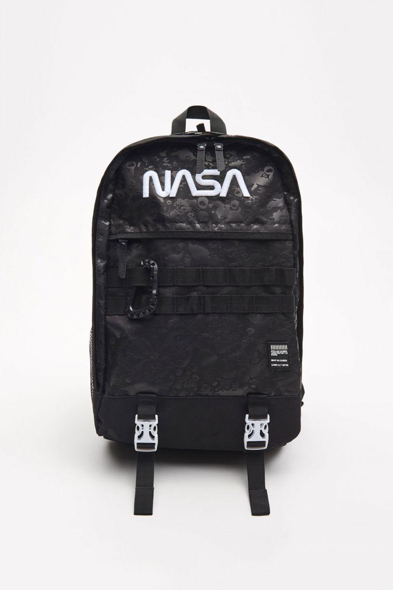 NASA hátizsák kulcstartóval - FEKETE - XR495-99X - Cropp - 2