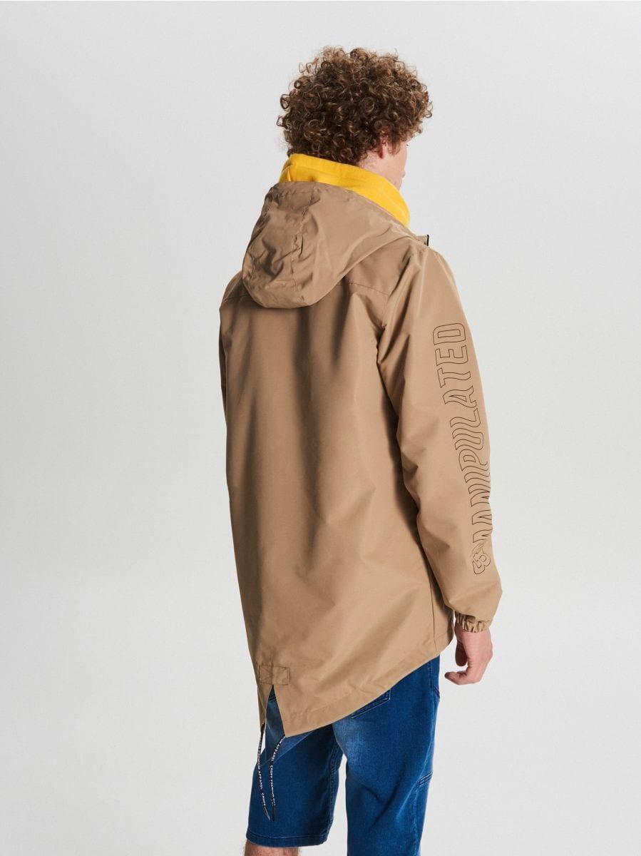 Könnyű dzseki kapucnival - BÉZS - VB081-80X - Cropp - 5