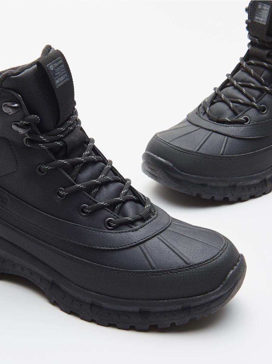 Magas szárú utcai cipő - FEKETE - WN957-99X - Cropp - 2