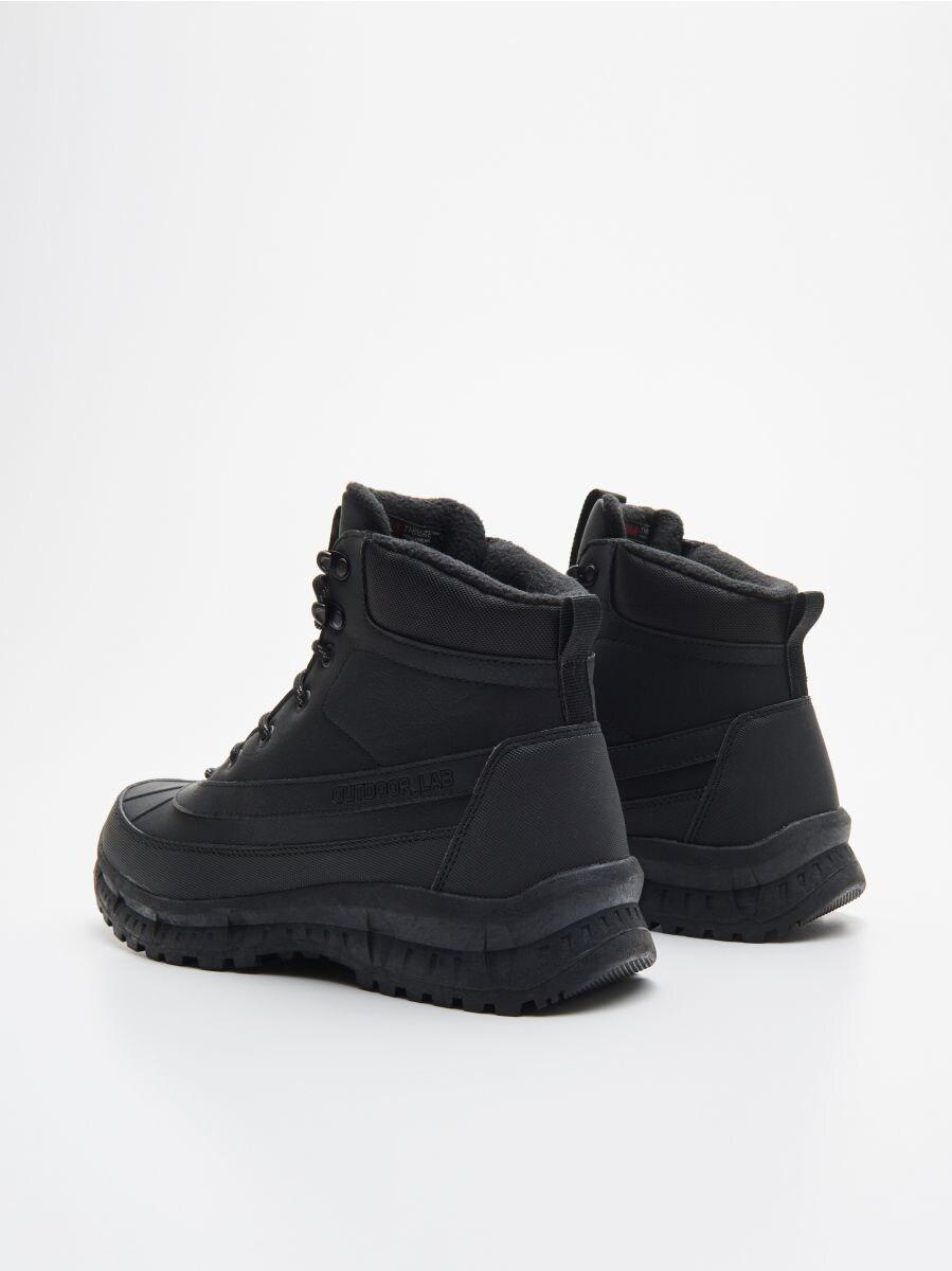 Magas szárú utcai cipő - FEKETE - WN957-99X - Cropp - 4