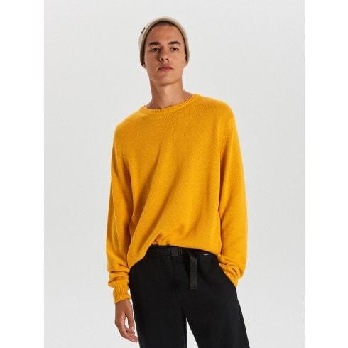 Egyszínű pulóver