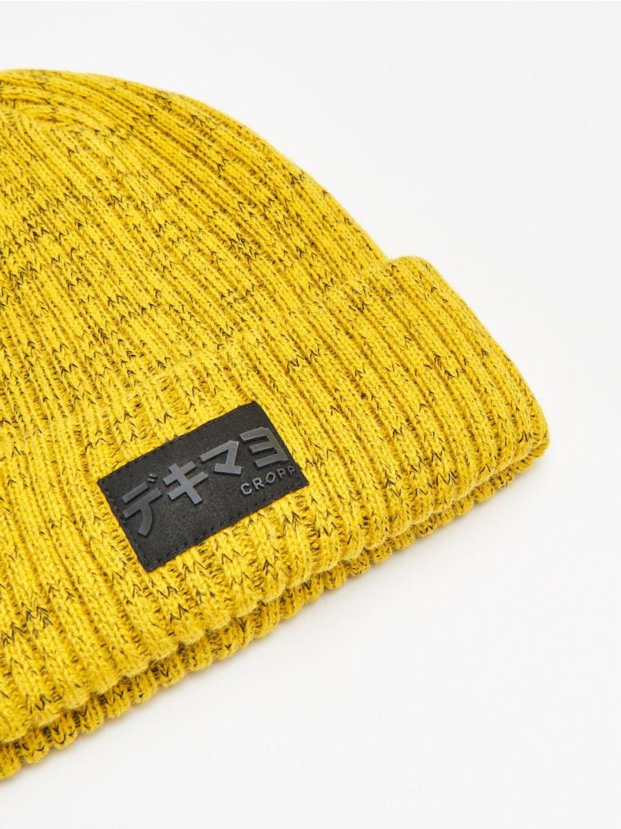 Hat with patch - GELB - WA006-11X - Cropp - 2