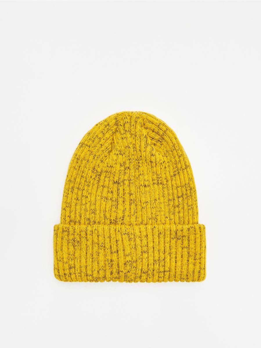 Hat with patch - GELB - WA006-11X - Cropp - 3