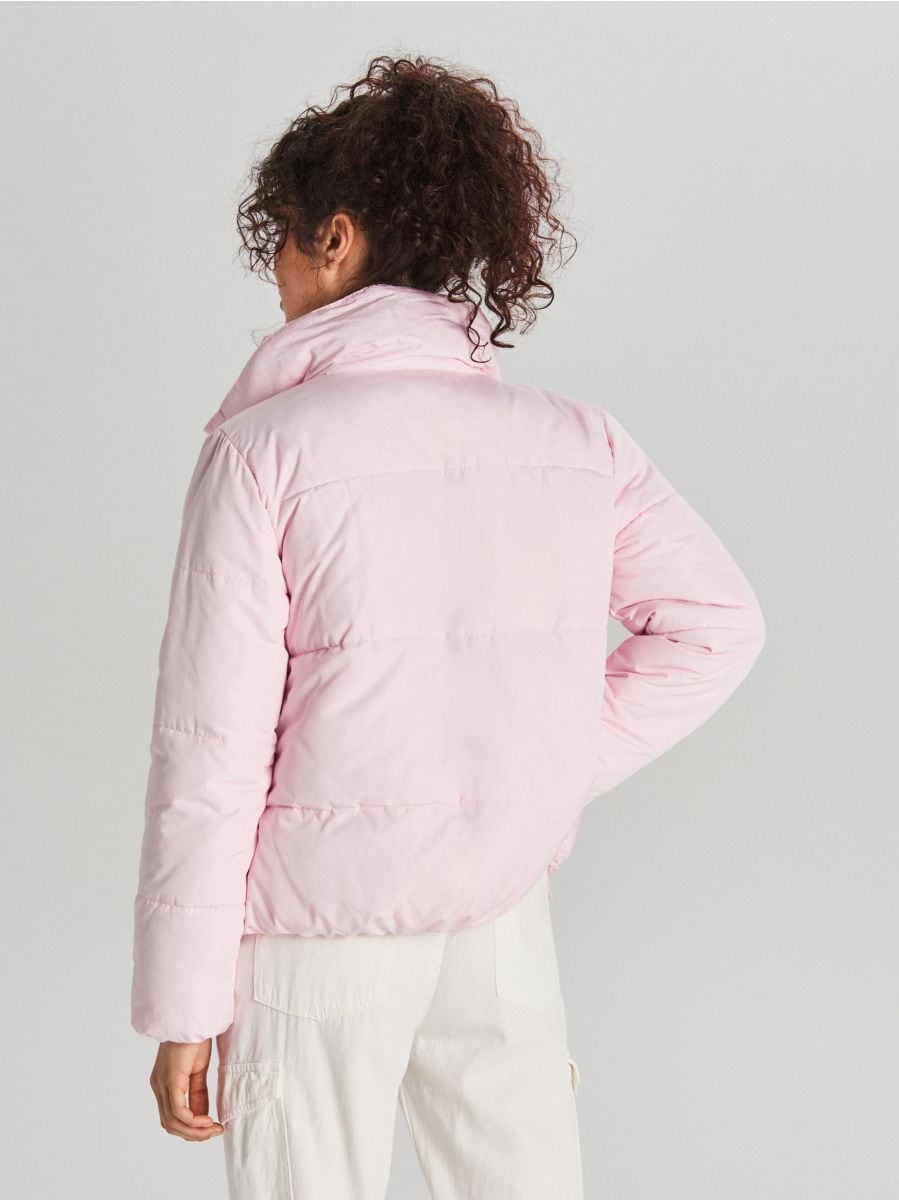 Quilted jacket with collar - ROSA - WG280-03X - Cropp - 7