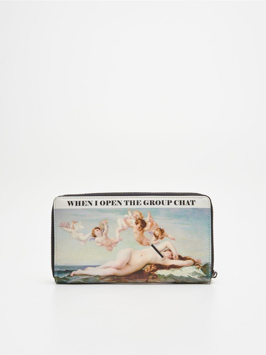 Printed wallet - BUNT - WR030-MLC - Cropp - 3