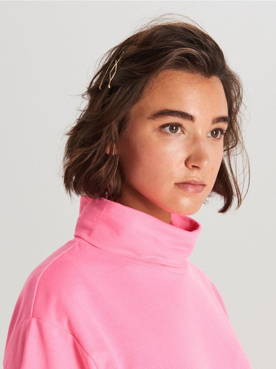 Oversized turtleneck blouse - ROSA - WV257-43X - Cropp - 2