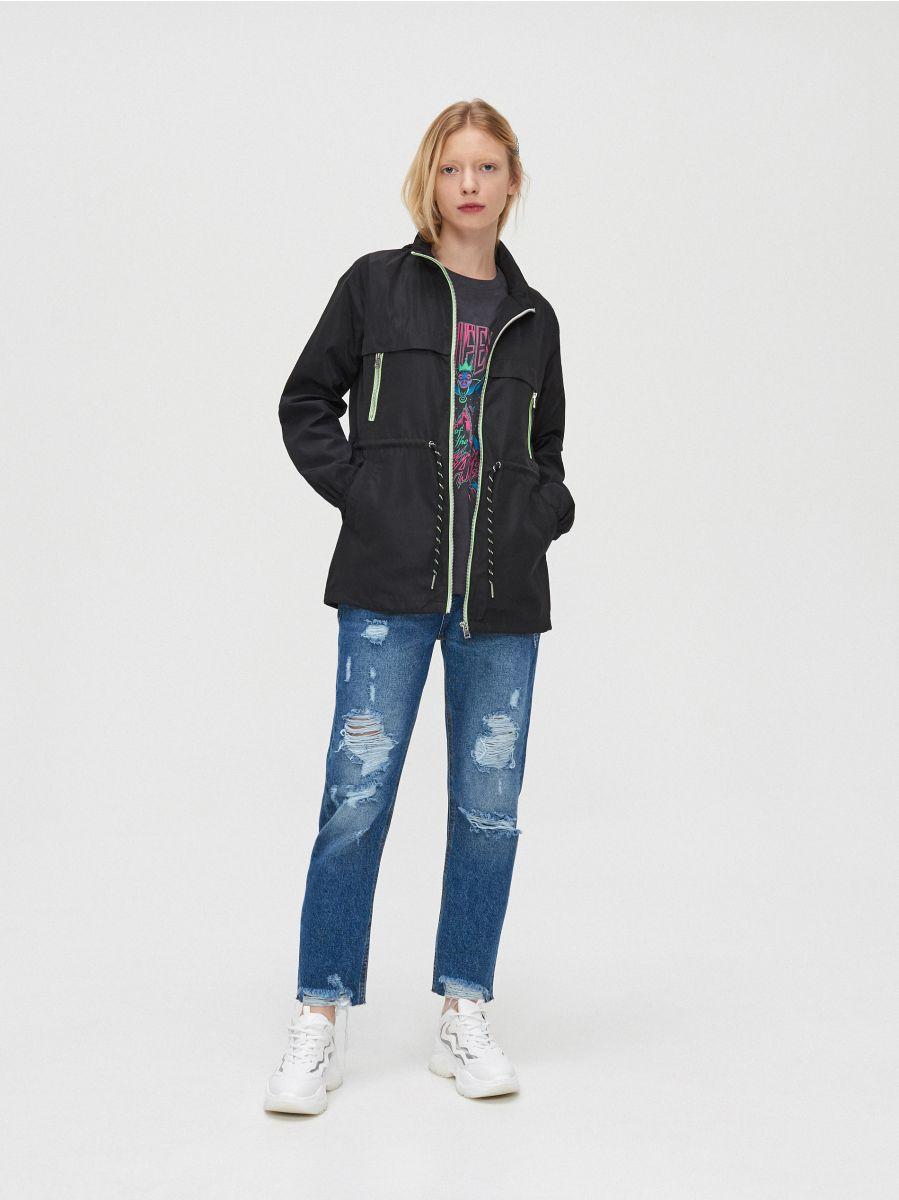 Lightweight rain jacket - SCHWARZ - XL598-99X - Cropp - 2
