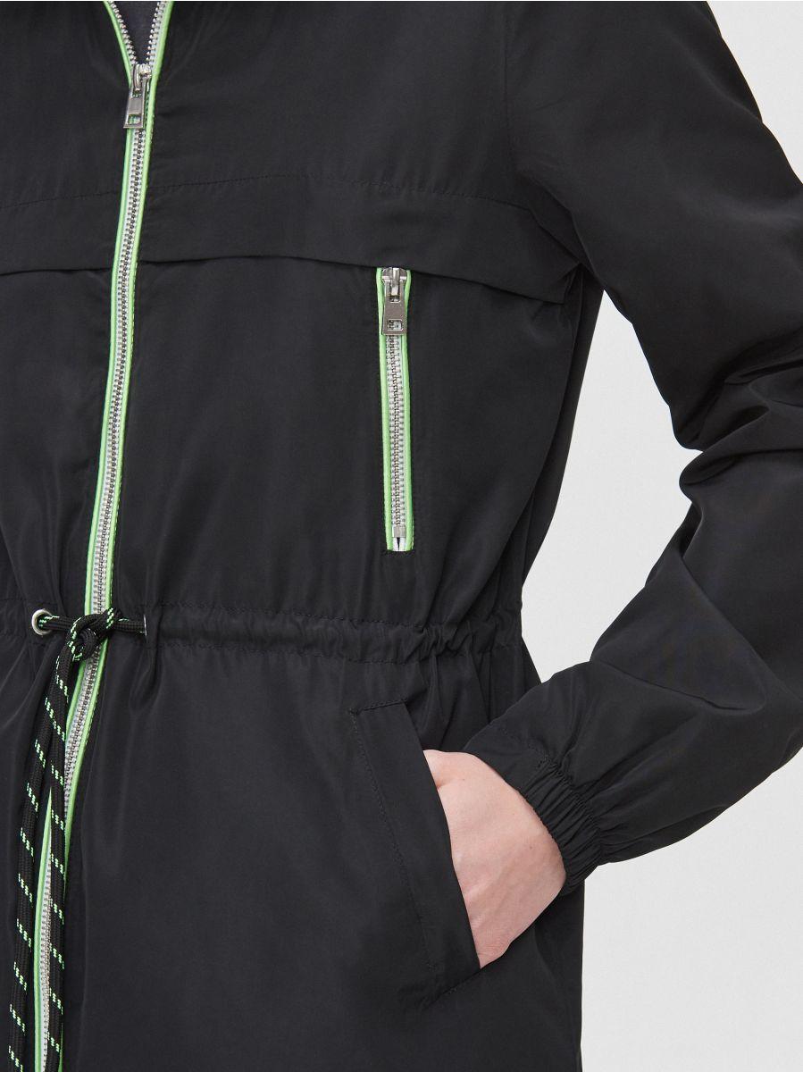 Lightweight rain jacket - SCHWARZ - XL598-99X - Cropp - 4