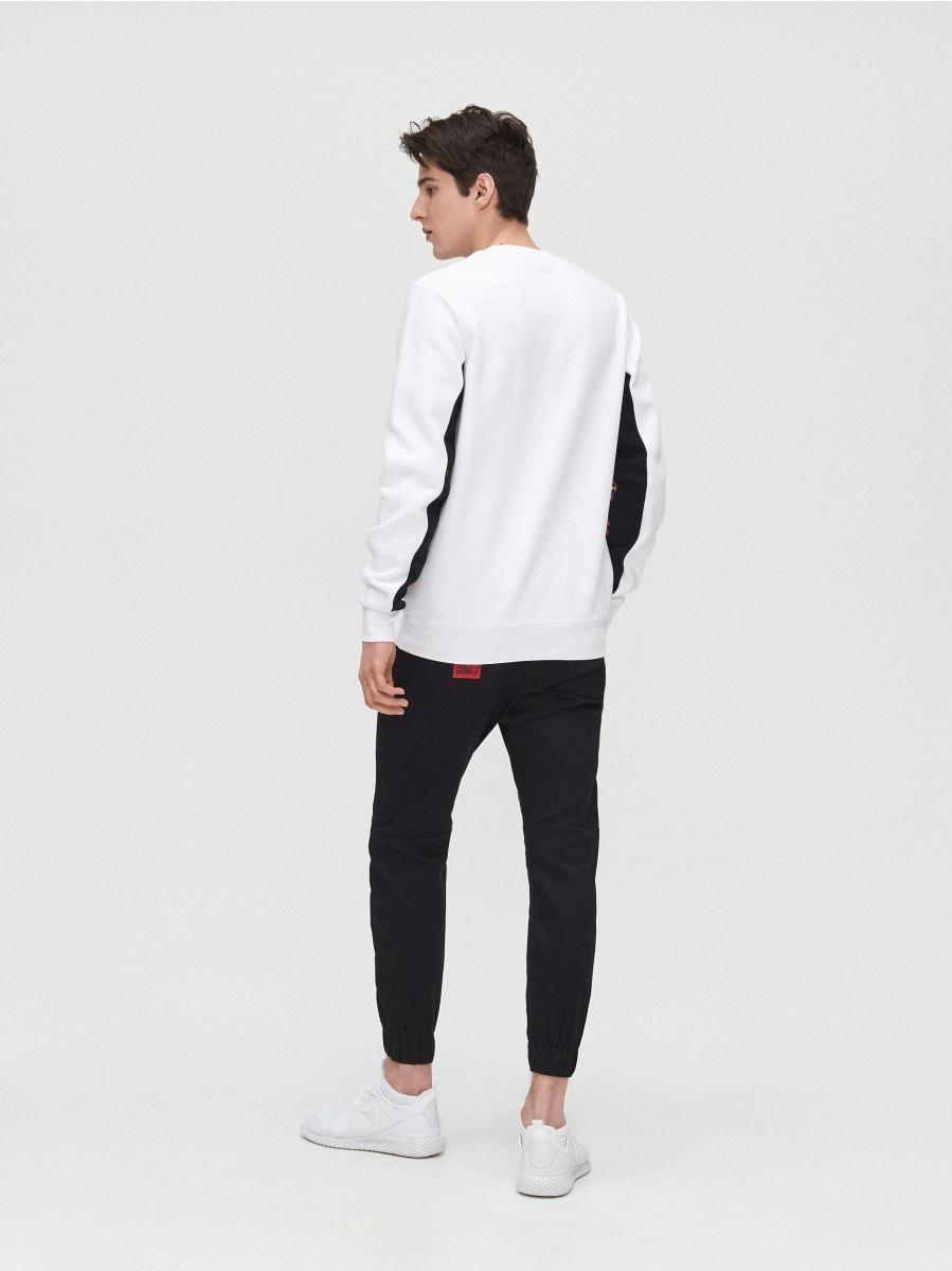 Sweat jogging pants - SCHWARZ - YH163-99X - Cropp - 4