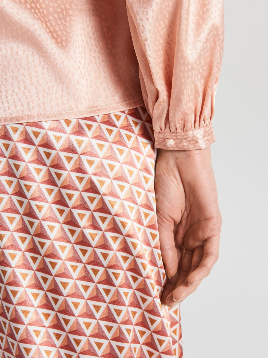 Satin blouse - ROSA - VY067-03X - Cropp - 5