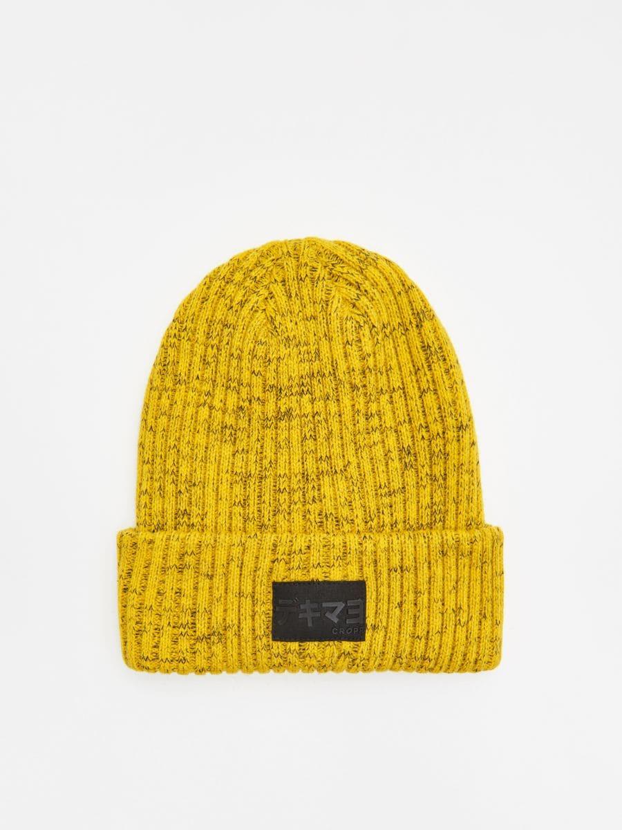 Hat with patch - GELB - WA006-11X - Cropp - 1