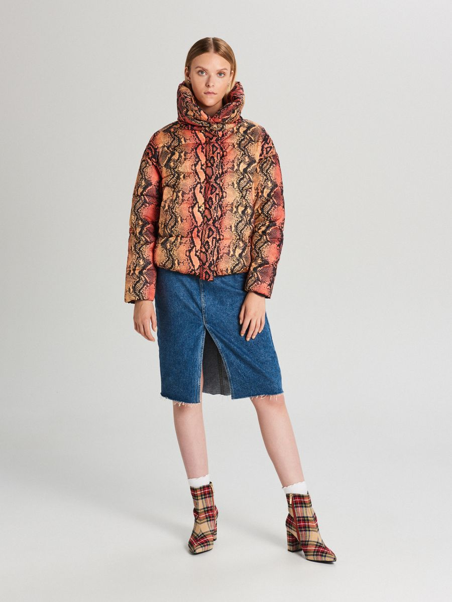 Puffer jacket - BEIGE - WB866-80X - Cropp - 2