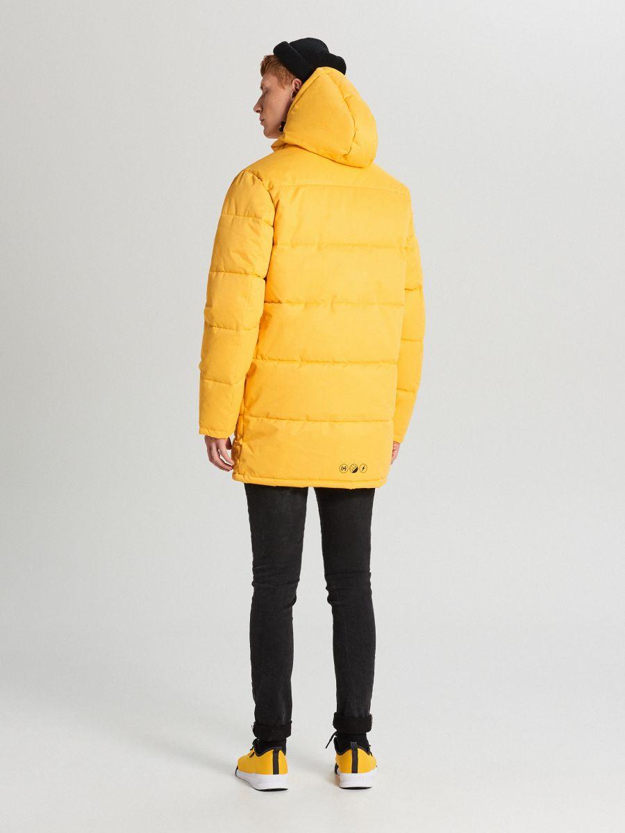 Hooded sports coat - GELB - WC151-11X - Cropp - 5