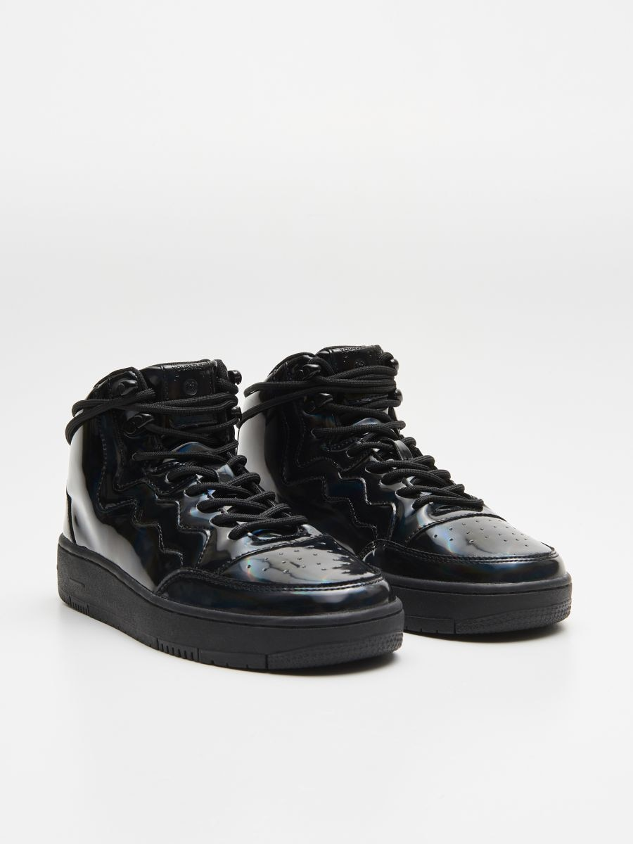 Ankle top sneakers - SCHWARZ - WE874-99X - Cropp - 3