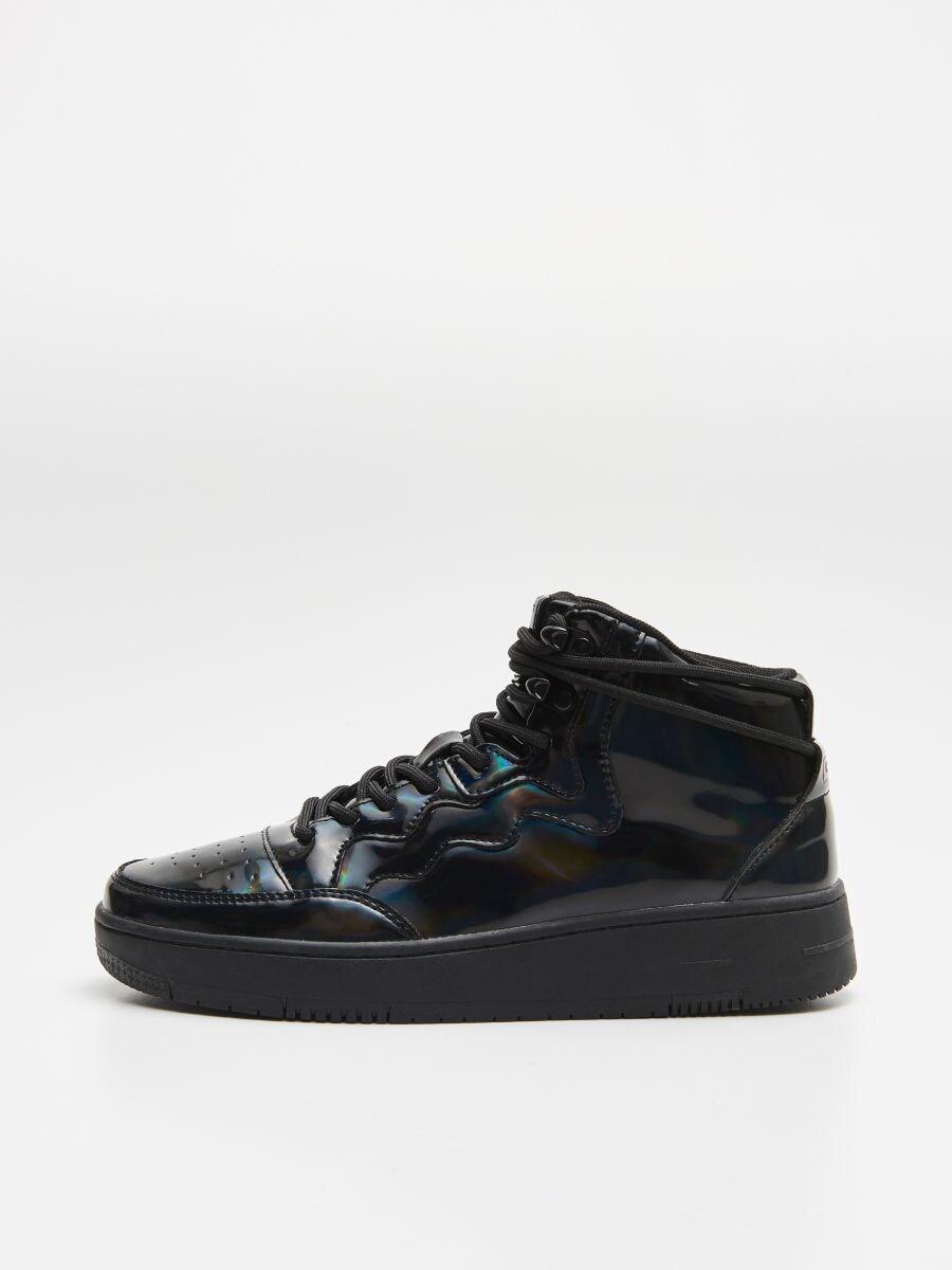 Ankle top sneakers - SCHWARZ - WE874-99X - Cropp - 4