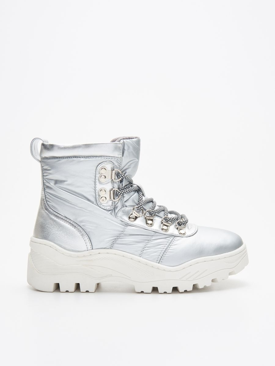 Chunky sole winter boots - SILBER - WE906-SLV - Cropp - 1