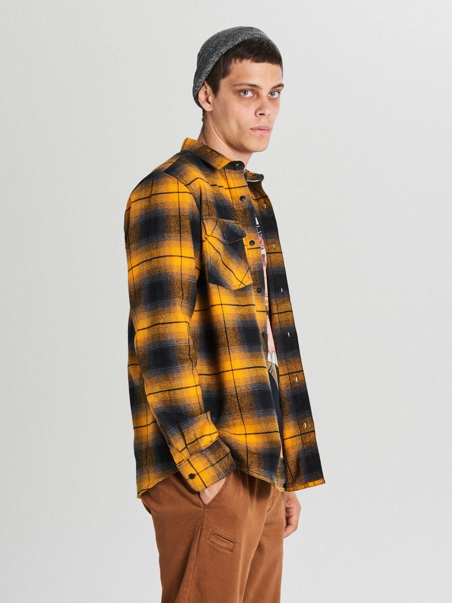Check shirt - GELB - WF528-11X - Cropp - 3