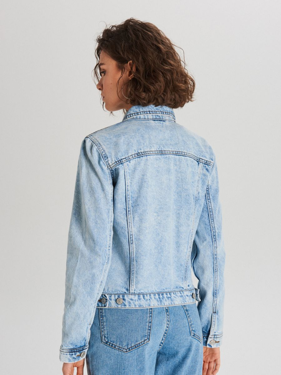 Denim jacket - BLAU - WG343-50J - Cropp - 4