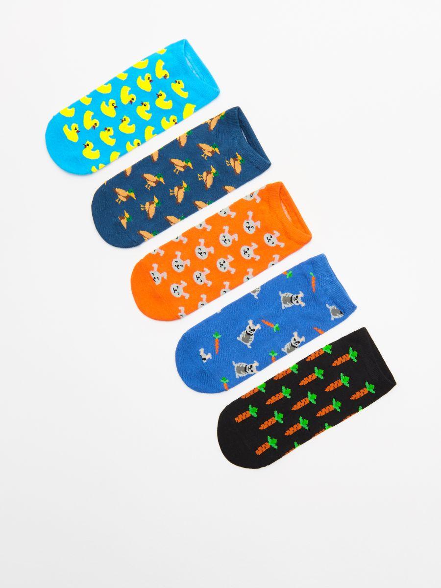 Pack of 5 pairs of socks - GRÜN - WP272-77X - Cropp - 1