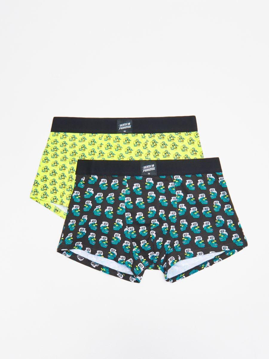 2 pack boxer shorts - GRÜN - WP278-71X - Cropp - 1
