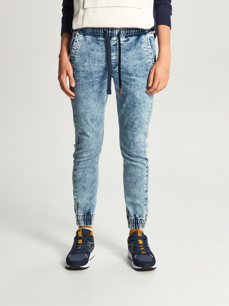 Jogger jeans - BLAU - WP393-55J - Cropp - 2