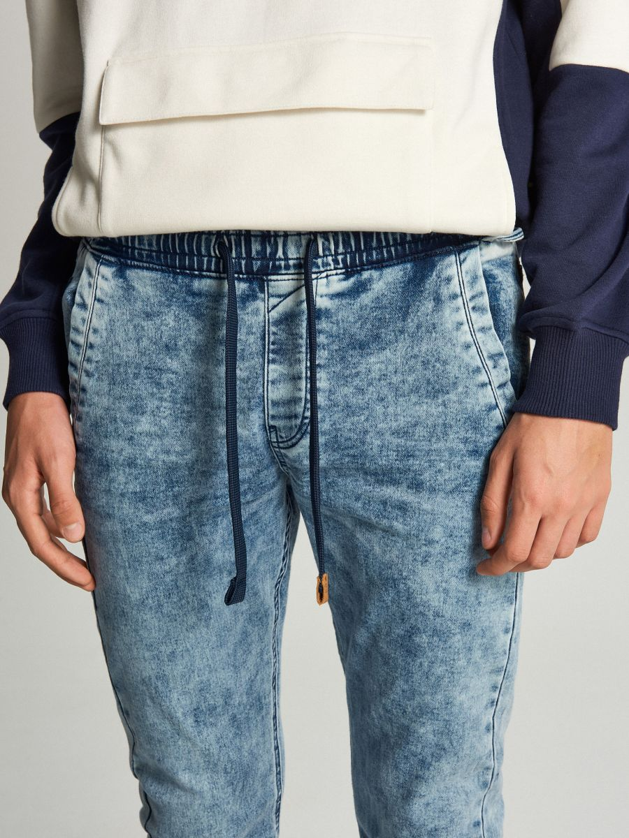 Jogger jeans - BLAU - WP393-55J - Cropp - 4