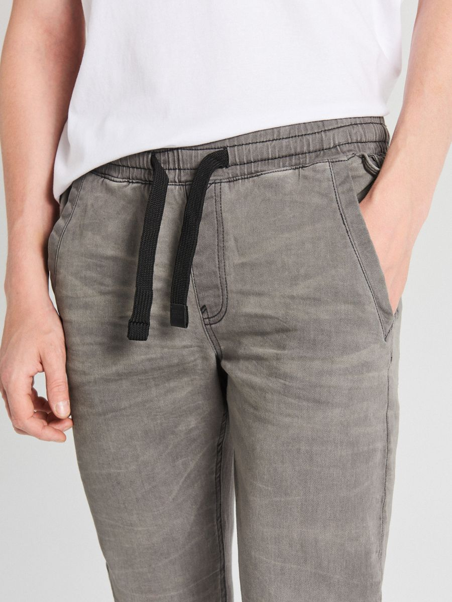 Jogger jeans - GRAU - WP393-90J - Cropp - 4