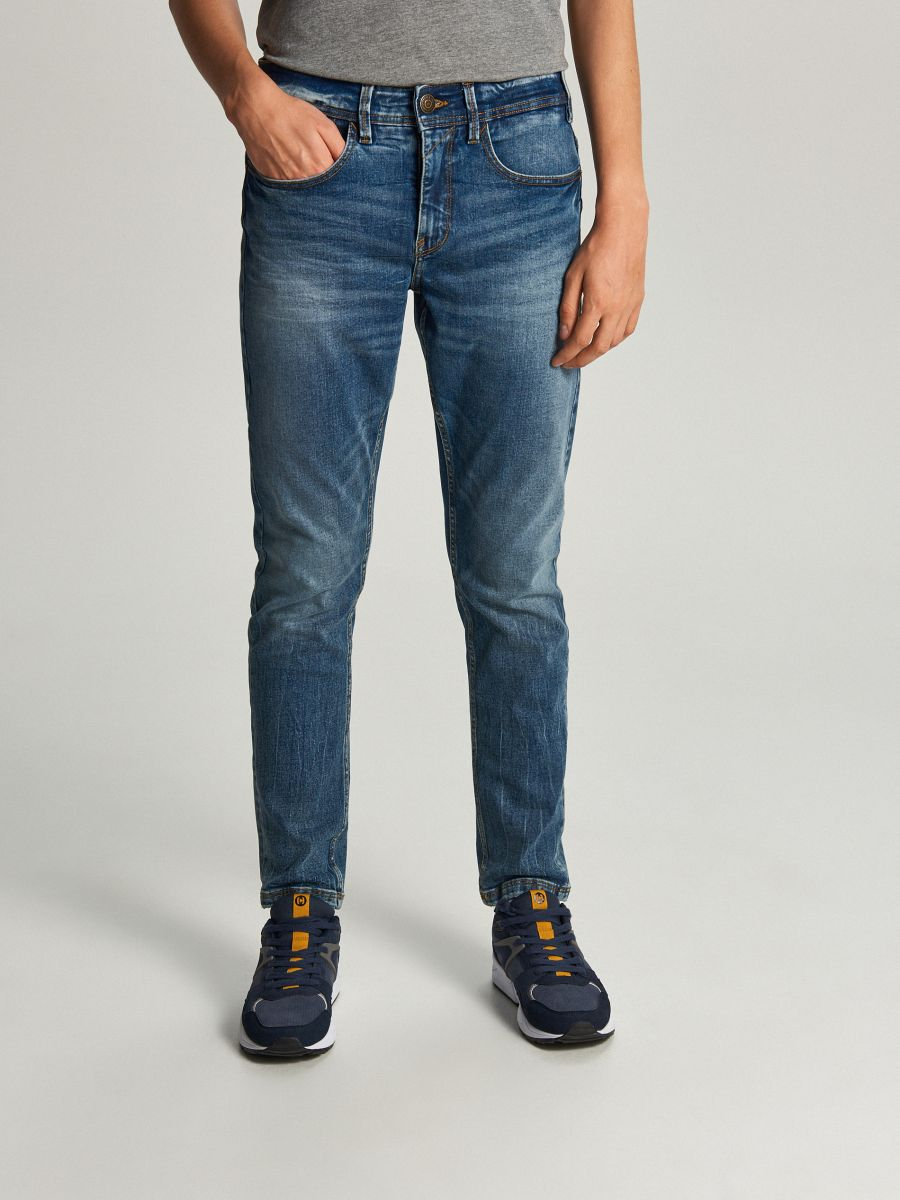 Comfort fit jeans - BLAU - WP402-55J - Cropp - 2
