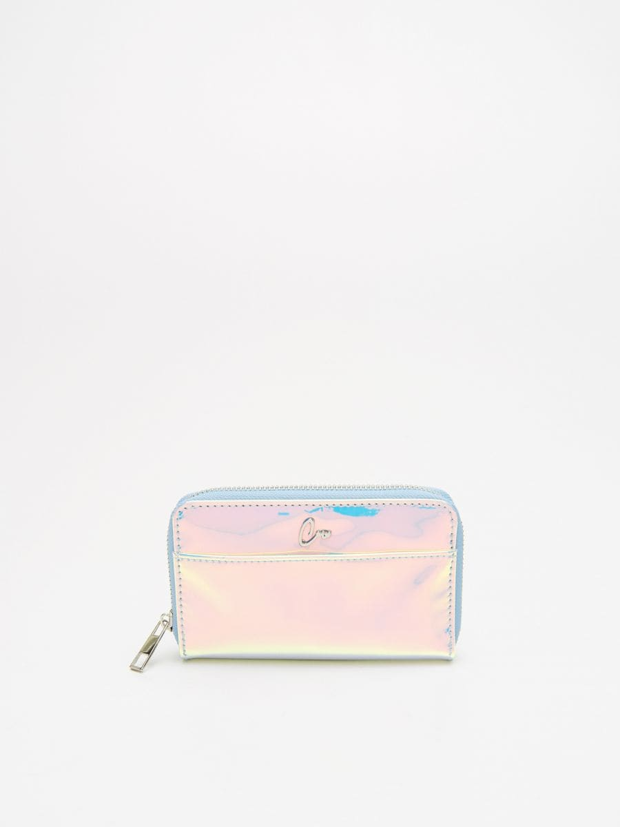 Holographic wallet - ROSA - WR019-03X - Cropp - 1