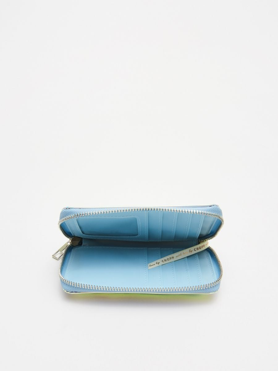 Holographic wallet - ROSA - WR019-03X - Cropp - 2