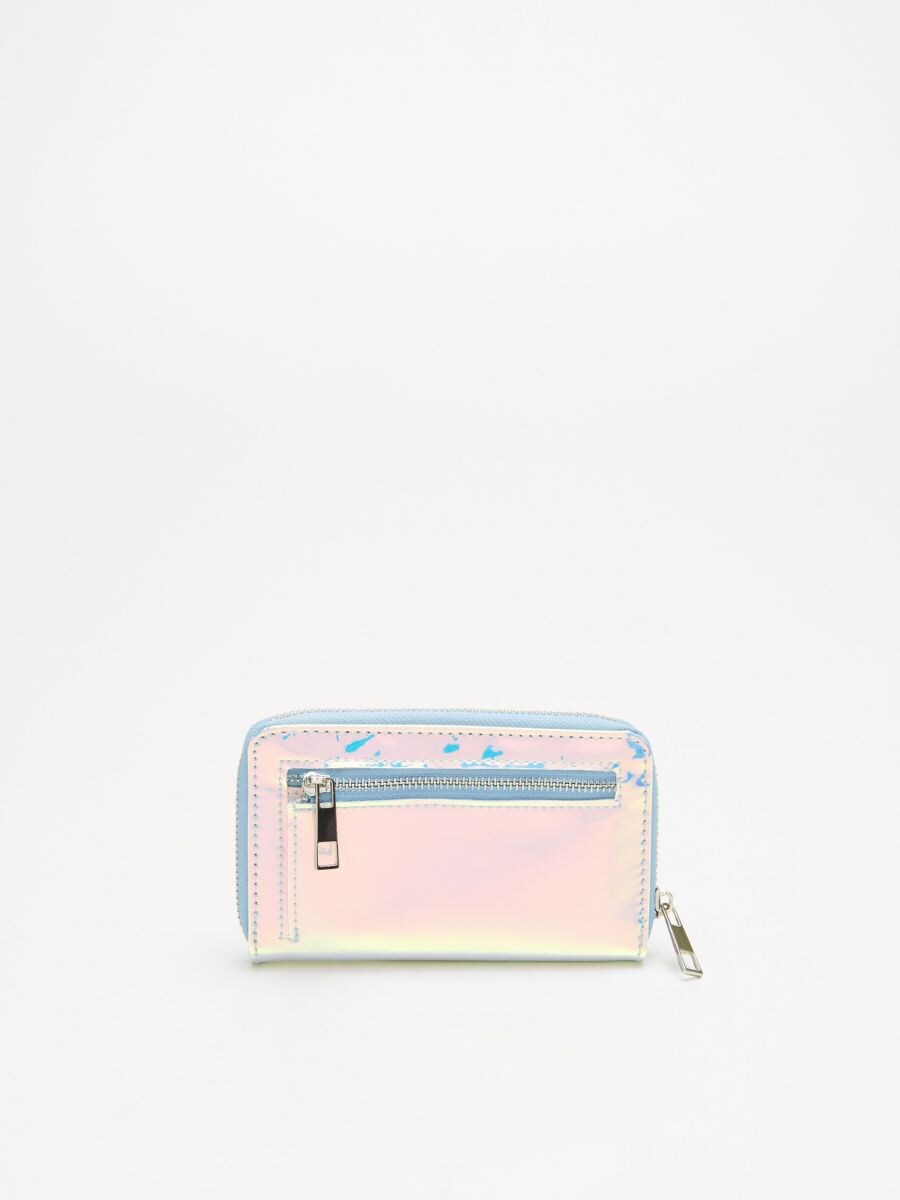 Holographic wallet - ROSA - WR019-03X - Cropp - 3