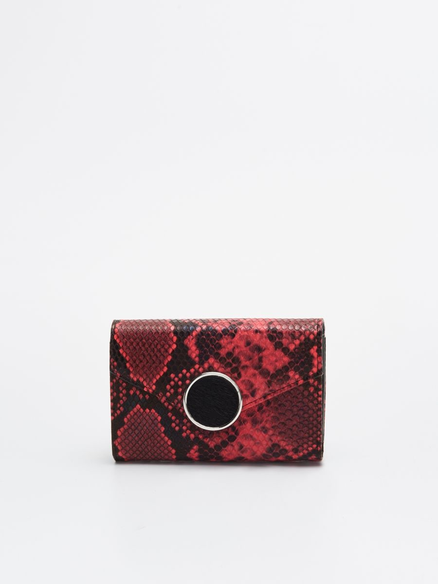 Wallet with decorative fastening - ROT - WR020-33X - Cropp - 1