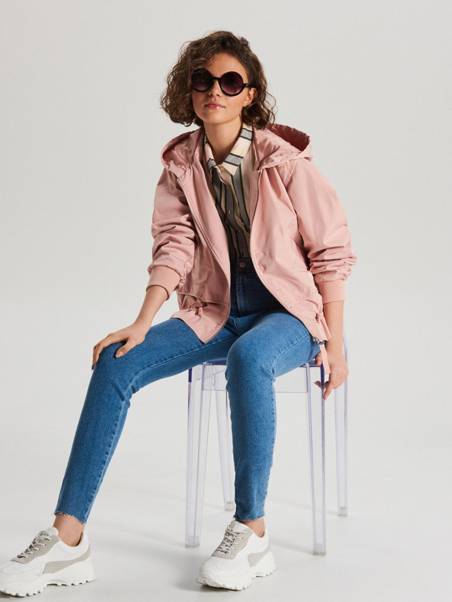 Hooded jacket - PURPUR - WS128-34X - Cropp - 2