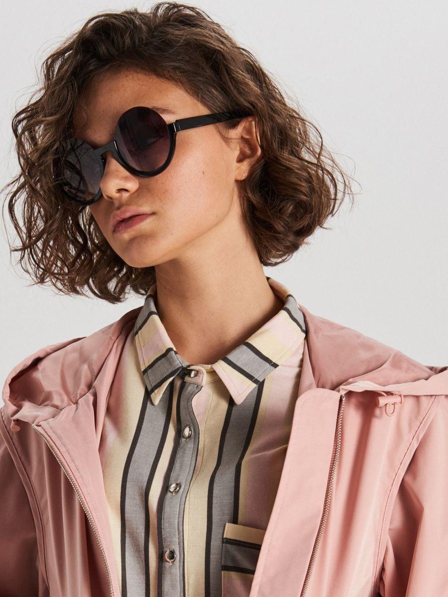 Hooded jacket - PURPUR - WS128-34X - Cropp - 3