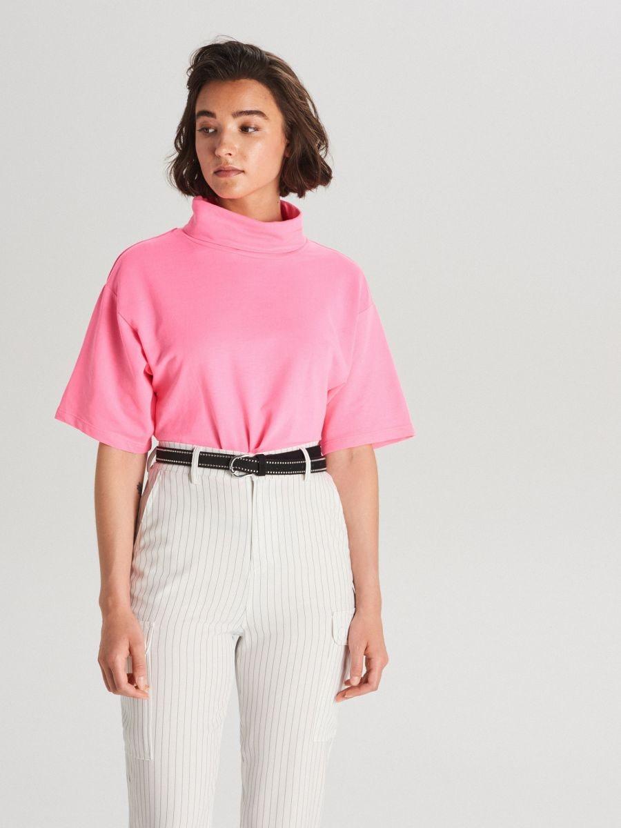 Oversized turtleneck blouse - ROSA - WV257-43X - Cropp - 1