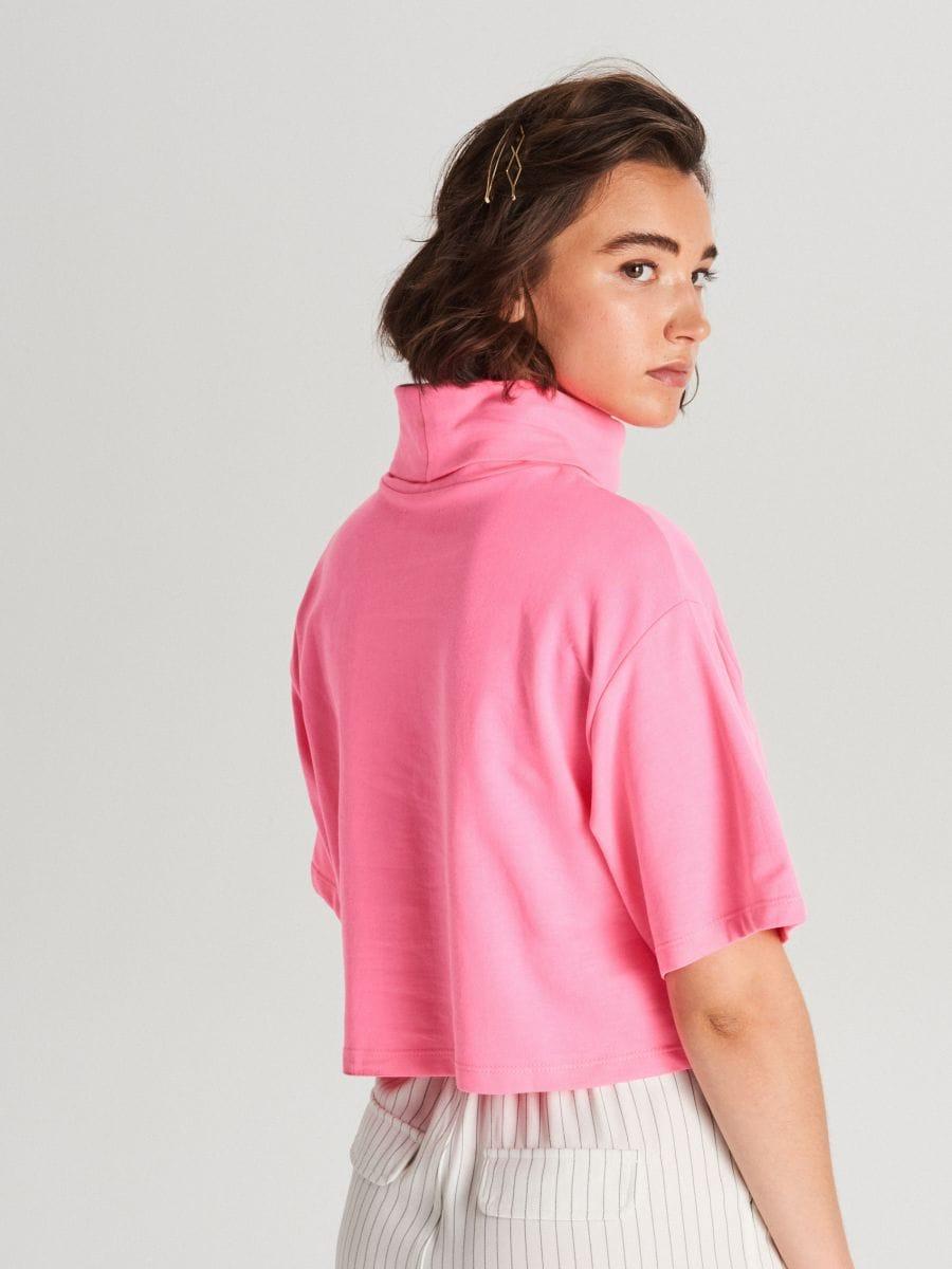 Oversized turtleneck blouse - ROSA - WV257-43X - Cropp - 3