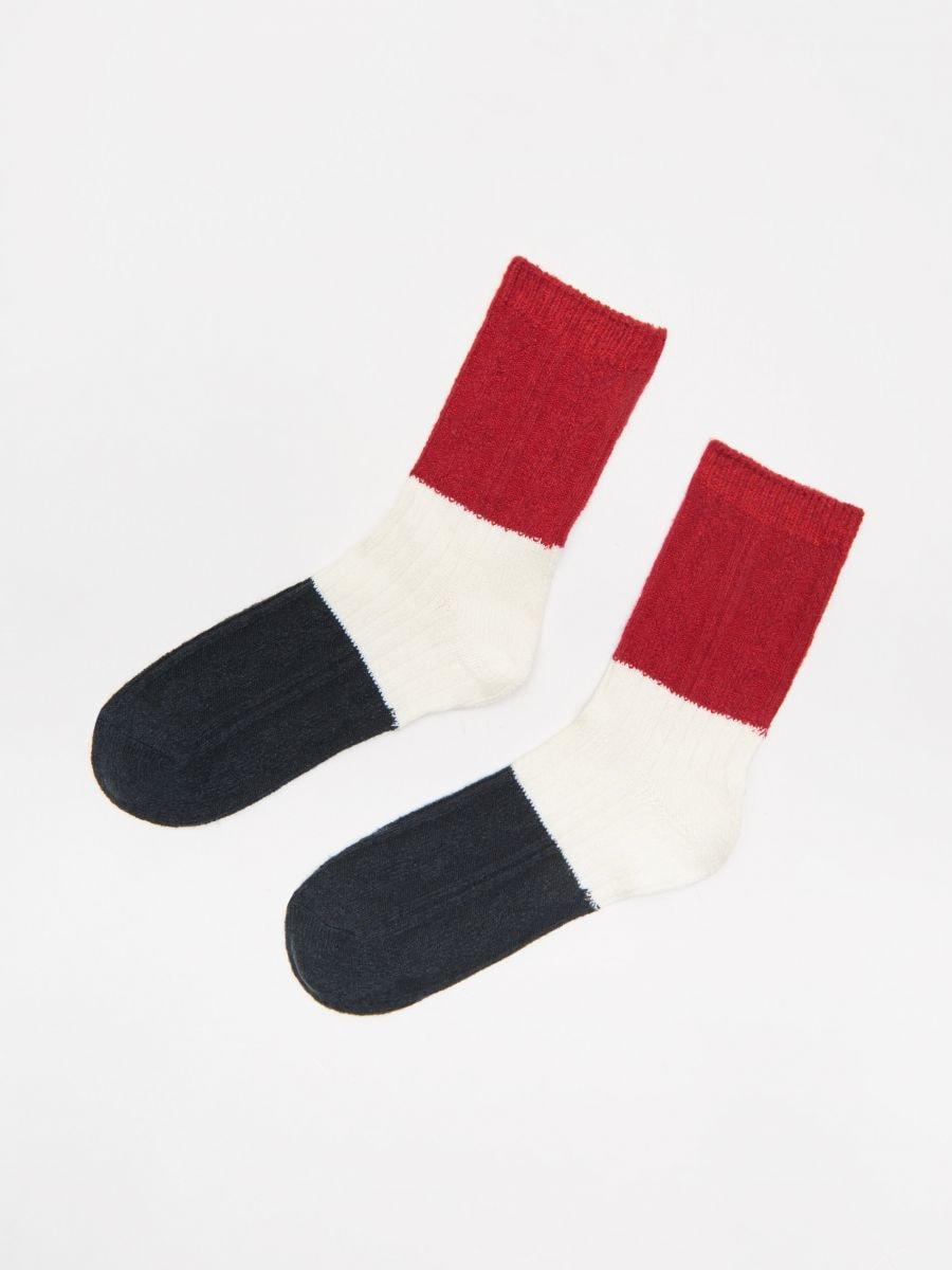 Socks - ROT - XE474-33X - Cropp - 1