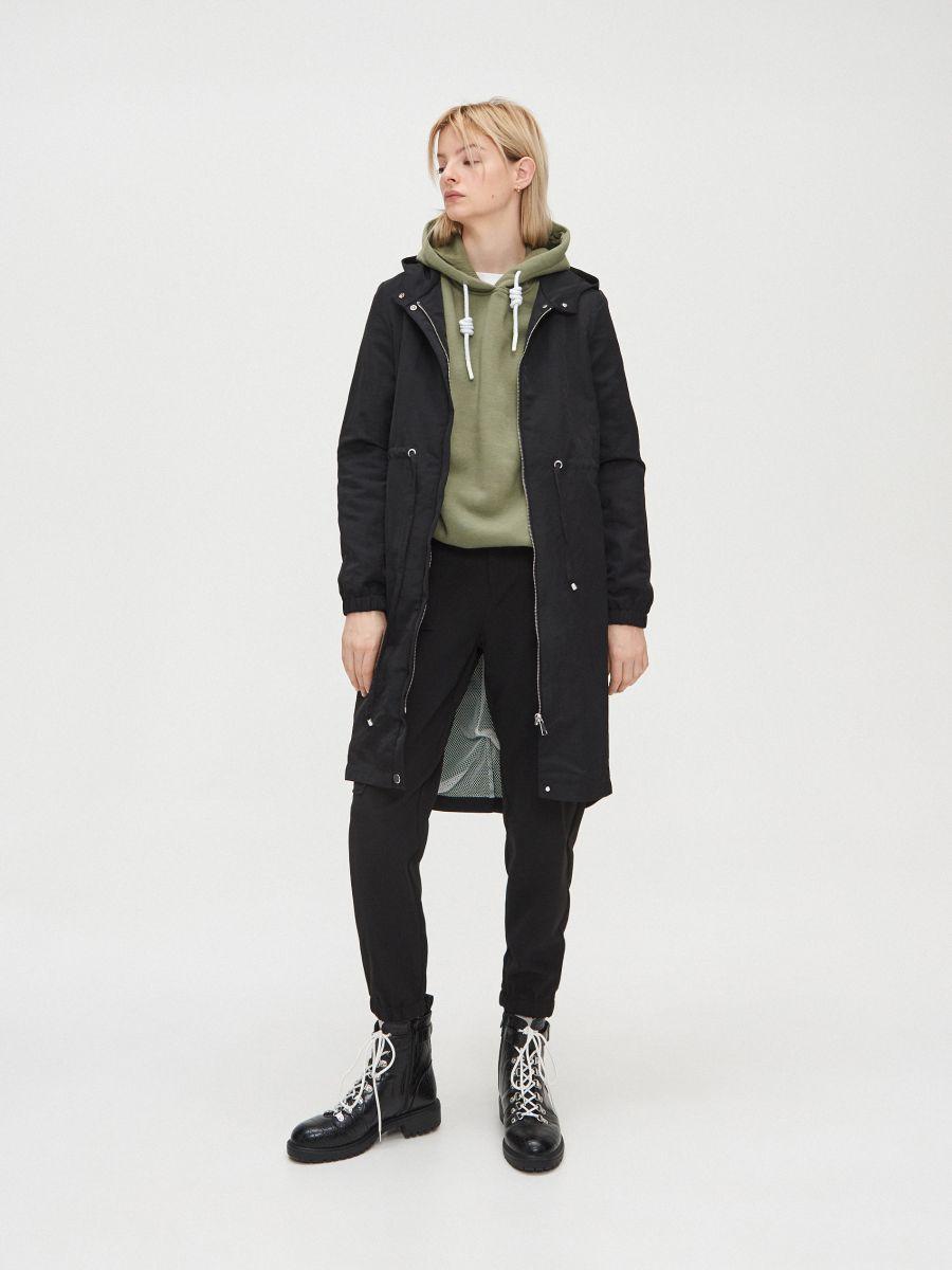 Hooded parka - SCHWARZ - XL555-99X - Cropp - 1
