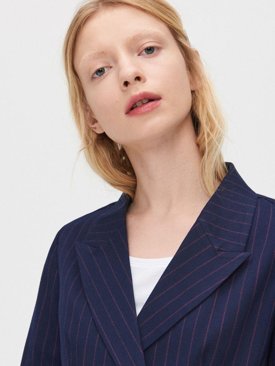 Double-breasted jacket - MARINEBLAU - XL583-59X - Cropp - 2