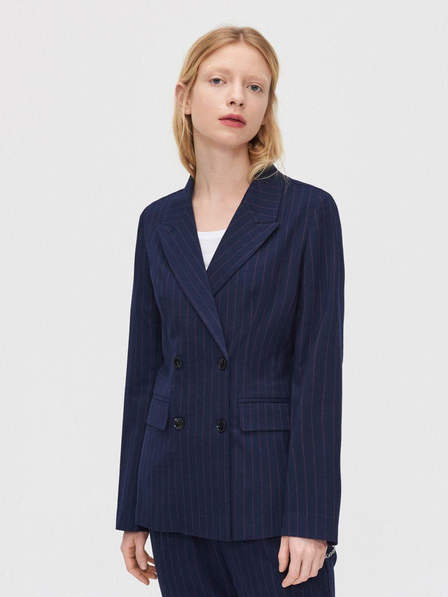 Double-breasted jacket - MARINEBLAU - XL583-59X - Cropp - 3